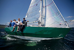 Sailing - SCOTLAND  - 25th-28th May 2018<br /> <br /> The Scottish Series 2018, organised by the  Clyde Cruising Club, <br /> <br /> First days racing on Loch Fyne.<br /> <br /> GBR6305C, Lady Ex, Ben Shelley, Fairlie Yacht Club, Extrovert 22<br /> <br /> Credit : Marc Turner<br /> <br /> <br /> Event is supported by Helly Hansen, Luddon, Silvers Marine, Tunnocks, Hempel and Argyll & Bute Council along with Bowmore, The Botanist and The Botanist