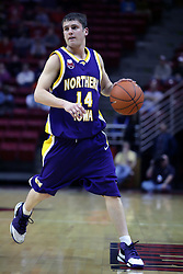 09 January 2007: Jared Josten.The Illinois State Redbirds, winless in the Missouri Valley Conference, knocked off the undefeated  Panthers of Northern Iowa 67-64 in overtime at Redbird Arena in Normal Illinois on the campus of Illinois State University.<br />