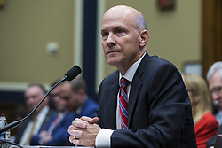 October 3, 2017 - Washington, District Of Columbia, USA - RICHARD SMITH the former Chief Executive Officer of Equifax testifies before the United States House of Representatives Energy and Commerce Subcommittee. (Credit Image: © Alex Edelman via ZUMA Wire)
