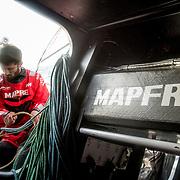 © Maria Muina I MAPFRE: Offshore sailing on board MAPFRE. Navegación oceánica a bordo del MAPFRE.