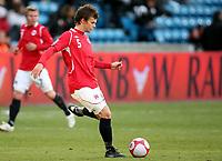 Fotball ,  10. oktober 2009 ,  privatkamp , Norge - Sør-Afrika<br /> <br /> Norway - South-Africa 1-0<br /> <br /> debutant , Knut Olav Rindarøy  , Norge