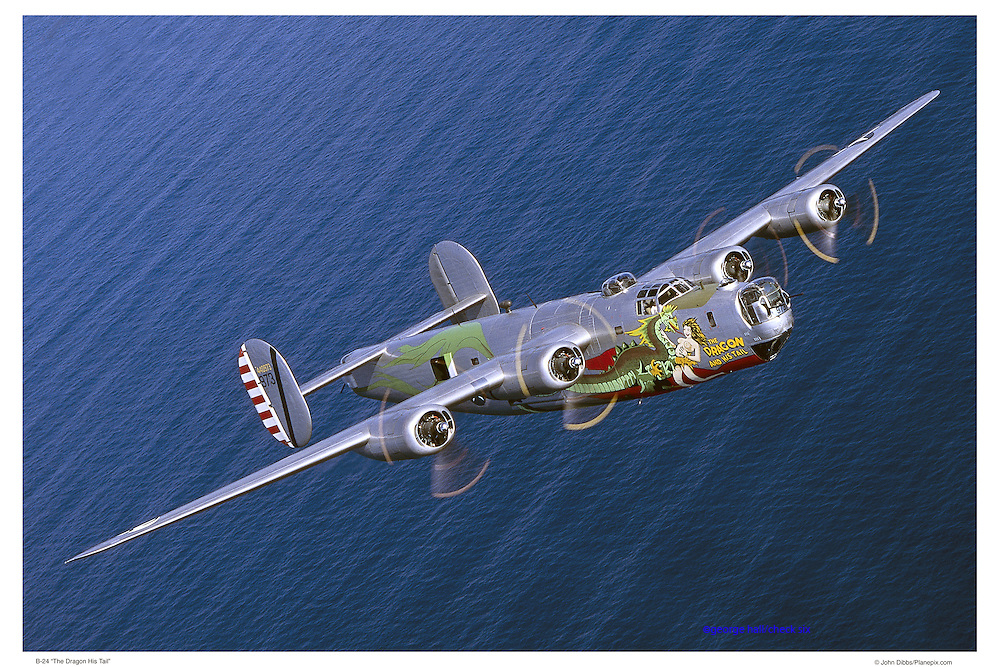 B-24 Dragon, air-to-air