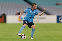 December 15, 2018 - Sydney, NSW, U.S. - SYDNEY, NSW - DECEMBER 15: Sydney FC defender Rhyan Grant (23) calls for a team mate at the Hyundai A-League Round 8 soccer match between Western Sydney Wanderers FC and Sydney FC at ANZ Stadium in NSW, Australia on December 15, 2018. (Photo by Speed Media/Icon Sportswire) (Credit Image: © Speed Media/Icon SMI via ZUMA Press)