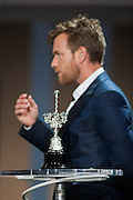 Award to Ewan McGregor during the  ceremony of the 60th San Sebastian International film Festival