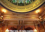 PA Capitol, Supreme Court Room, Lights and Dome, Joseph Huston, Architect