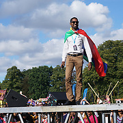 London, UK, 21th August 2016 : Organise of the Mauritian Open Air Festival 2016 at Gunnersbury Park in London,UK. © See Li/PictureCapital