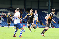 Newport County's Adam Chapman controls play in the middle of the park. Skybet Football League two match, Bury v Newport county at Gigg Lane in Bury on Saturday 5th Oct 2013. pic by David Richards, Andrew Orchard sports photography,
