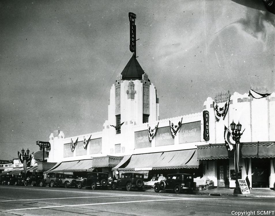 1932 Jess Willard's Grocery Store at 1334 Vine St.