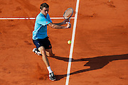 Roland Garros. Paris, France. May 28th 2012.French player Gilles SIMON against Ryan Harrison..