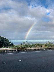 Rainbow On Coastal Rd