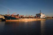 Arco Beck cargo ship, Great Yarmouth, England