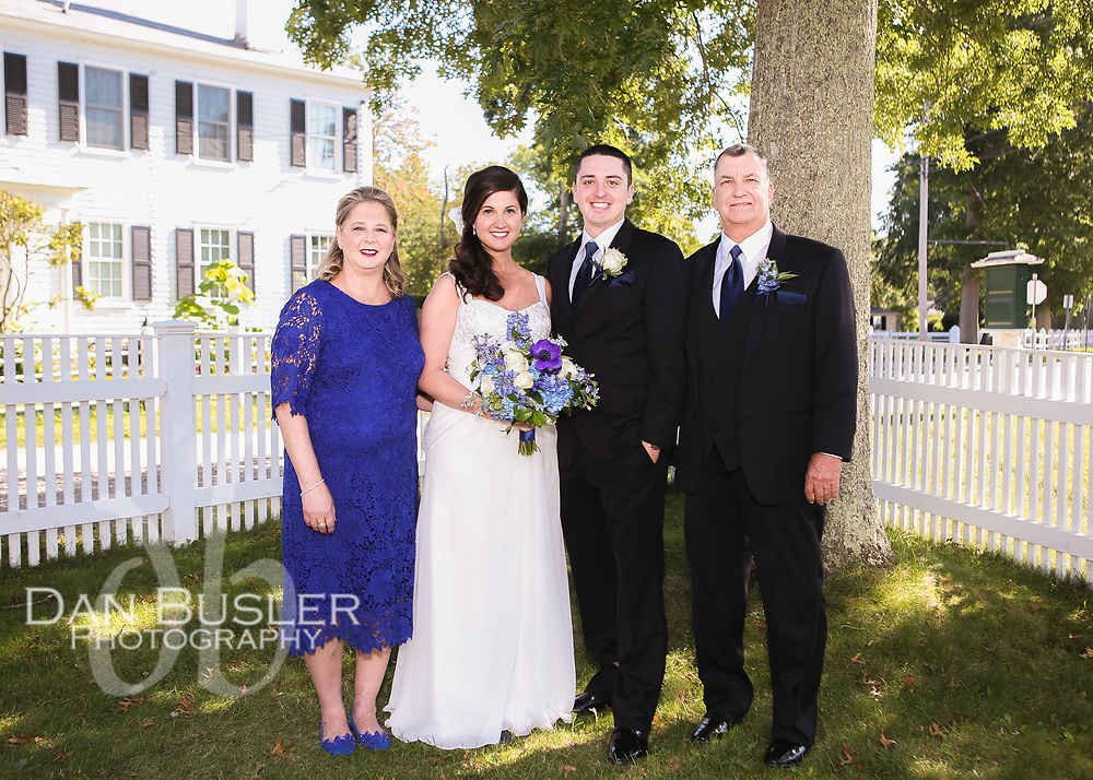 The Wedding Day of Holli and Kevin Bogner - September 9, 2017 at Museums on the Green in Falmouth MA