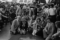 1979 Fleetwood Mac's Walk of Fame ceremony