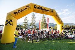16.08.2013, Tristach, AUT, ECCO Benetton Sprint 2013, im Bild Start des Feldes in Tristach. EXPA Pictures © 2013, PhotoCredit: EXPA/ Johann Groder