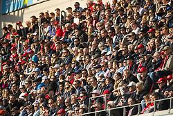 April 29, 2018 - Kalmar, SVERIGE - 180429 Publik under fotbollsmatchen i Allsvenskan mellan Kalmar och Malmö den 29 april 2018 i Kalmar  (Credit Image: © Suvad Mrkonjic/Bildbyran via ZUMA Press)