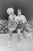 19901119 England vs Australia Netball, London Stadium
