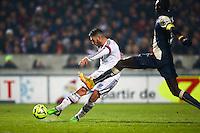 Goal Jordan Ferri - 21.12.2014 - Bordeaux / Lyon - 19eme journee de Ligue 1 -<br />Photo : Manuel Blondeau / Icon Sport