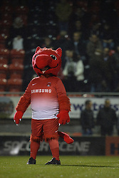 The Leyton Orient Mascot - Photo mandatory by-line: Mitchell Gunn/JMP - Tel: Mobile: 07966 386802 17/09/2013 - SPORT - FOOTBALL -  Matchroom Stadium - London - Leyton Orient v Notts County - Sky Bet League One
