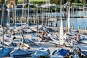 Sailboat rental, Newport, Rhode Island, RI, USA