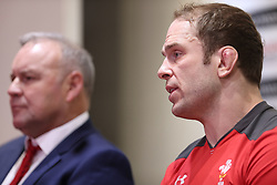 February 1, 2020, Cardiff (Wales, Italy: alun wyn jones captain of galles durante the Press Conference during Wales vs Italy, Six Nations Rugby in Cardiff (Wales), Italy, February 01 2020 (Credit Image: © Massimiliano Carnabuci/IPA via ZUMA Press)