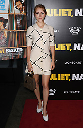 """AnnaSophia Robb at the premiere of """"Juliet, Naked"""" Premiere in New York City."""
