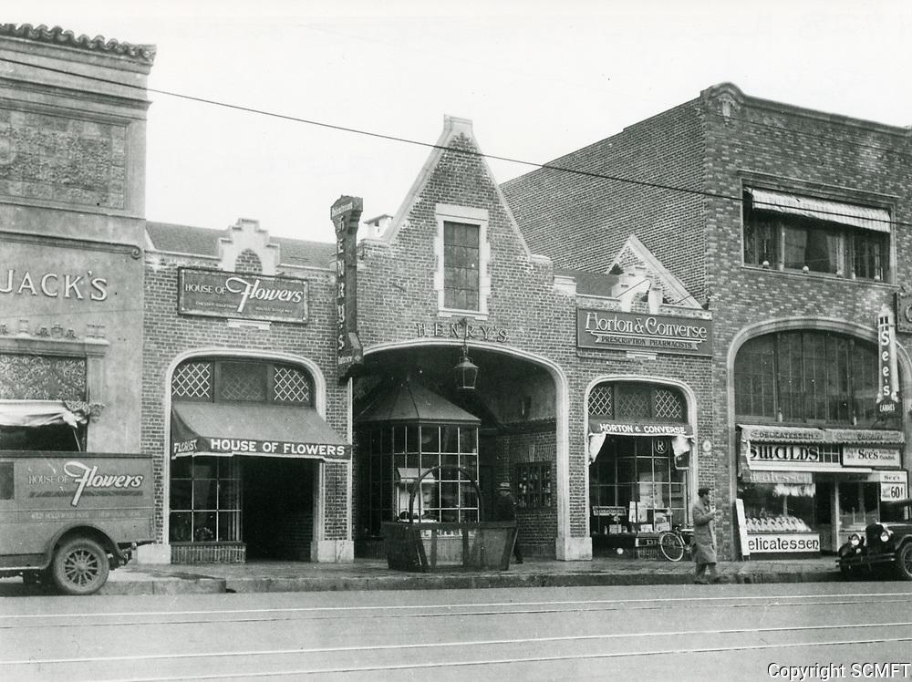 1928 Henry's Delicatessen on Hollywood Blvd.