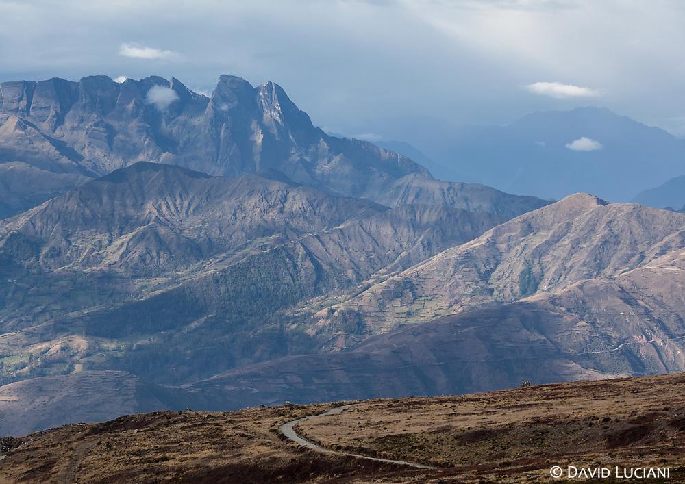 Mountain scenery along Ruta PE-3SD. Seen between Santa Maria de Chicmo district and Abancay.