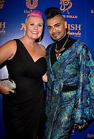 Lisa Allen, Jay Kamiraz at  the British Curry Awards, at Evolution Battersea park London.