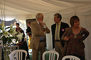 Sir Tim Rice, john Challis and Viscountess Windsor. Ludlow Charity Race Day,  in aid of Action Medical Research. Ludlow racecourse. 24 march 2005. ONE TIME USE ONLY - DO NOT ARCHIVE  © Copyright Photograph by Dafydd Jones 66 Stockwell Park Rd. London SW9 0DA Tel 020 7733 0108 www.dafjones.com