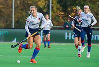AMSTELVEEN - Kyra Fortuin (SCHC) tijdens de competitie hoofdklasse hockeywedstrijd dames, Pinoke-SCHC (1-8) . COPYRIGHT KOEN SUYK