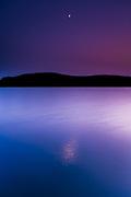 Moon's Reflection on Harveys Lake, Darren Elias Photography