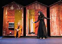 Reimagining Shakespeare's Illyria as a seaside holiday resort from the 1970s, complete with ramshackle beach huts, Shake is a delirious pop-theatre rethink of Twelfth Night from British-born director Dan Jemmett and his French-based theatre company Eat a Crocodile.
