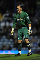 Fotball<br /> England<br /> Foto: Fotosports/Digitalsport<br /> NORWAY ONLY<br /> <br /> Jamie Ashdown (Portsmouth) keeps a clean sheet for Pompey <br /> <br /> 27.10.09 Portsmouth v Stoke City Carling Cup Fratton Park