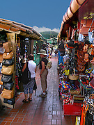 Shopping In Olvera Street Downtown Los Angeles California
