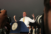 New York, New York, NY-August 31:  New York City Mayor Bill De Blasio and New York City First Lady Chirlane McCray and others celebrate Harlem Week 2017 with a salute to ' Harlem: Home of Immigrants' honoring New York's International Diversity held at Gracie Mansion on August 3, 2017 in New York City. (Photo by Terrence Jennings/terrencejennings.com)