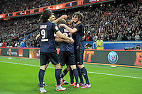 joie PSG / Adrien Rabiot - 23.05.2015 - PSG / Reims - 38eme journee de Ligue 1<br /> Photo : Andre Ferreira / Icon Sport