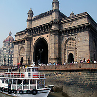 Asia, India, Mumbai. The Gateway of India in Mumbai.
