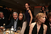 VICTORIA HOPPER, LARRY GAGOSIAN, NAOMI CAMPBELL, Party hosted by Larry Gagosian at Nobu, Berkeley St. London. 9 October 2007. -DO NOT ARCHIVE-© Copyright Photograph by Dafydd Jones. 248 Clapham Rd. London SW9 0PZ. Tel 0207 820 0771. www.dafjones.com.
