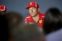 Kimi Raikkonen Scuderia Ferrari<br /> Monza 30-08-2018 GP Italia <br /> Formula 1 Championship 2018 <br /> Foto Federico Basile / Insidefoto