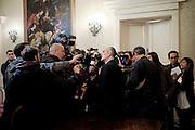 Franco Gabrielli in conferenza stampa in <br /> occasione del Giubileo Straordinario della <br /> Misericordia.<br /> 21 ottobre  2015 . Daniele Stefanini /  OneShot