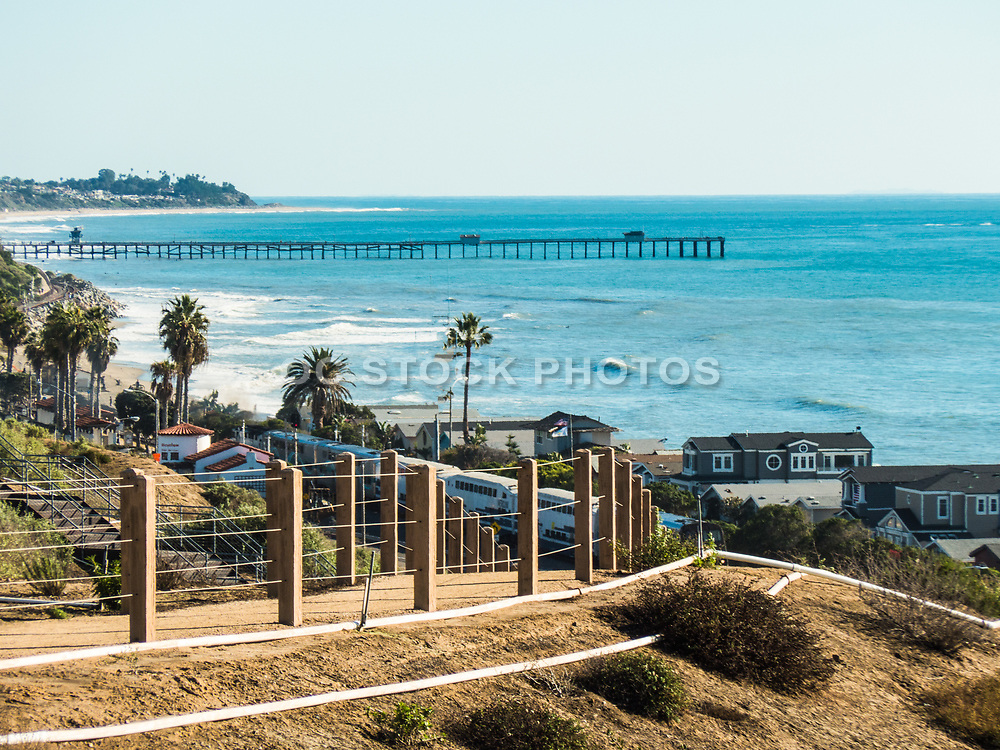 Sea Summit Walking Trail Overlooking San Clemente Pier