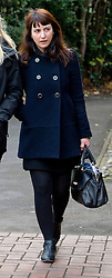 ©  London News Pictures. 25/11/2013. London, UK. Francesca  Grillo, one of two sisters who are the former personal assistants to Charles Saatchi and Nigella  Lawson, arriving at Isleworth Crown Court in London. The pair, who face fraud charges, are accused of misappropriating funds while working for Saatchi and Lawson. Photo credit : Ben Cawthra/LNP