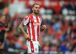 """Stoke City's Jese Rodriguez during the Premier League match at the bet365 Stadium, Stoke. PRESS ASSOCIATION Photo. Picture date: Saturday August 19, 2017. See PA story SOCCER Stoke. Photo credit should read: Mike Egerton/PA Wire. RESTRICTIONS: EDITORIAL USE ONLY No use with unauthorised audio, video, data, fixture lists, club/league logos or """"live"""" services. Online in-match use limited to 75 images, no video emulation. No use in betting, games or single club/league/player publications."""