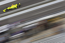 May 18, 2018 - Indianapolis, Indiana, United States of America - SIMON PAGENAUD (22) of France brings his car down the frontstretch during ''Fast Friday'' practice for the Indianapolis 500 at the Indianapolis Motor Speedway in Indianapolis, Indiana. (Credit Image: © Chris Owens Asp Inc/ASP via ZUMA Wire)