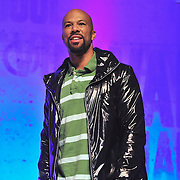 PHILADELPHIA - OCTOBER 01:  Grammy award winning artist and actor Common  speaks on stage at The Get Schooled National Challenge & TourÓ at Abraham Lincoln High School on October 1, 2010 in Philadelphia, Pennsylvania.  (Photo by Lisa Lake/Getty Images for The Get Schooled Foundation)