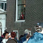 Huwelijk Patrick Kluivert en Angela van Hulten Amsterdam, de dominee wacht op Patrick