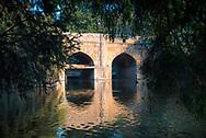 Bridge in Lodhi Gardens (Lodi Gardens), New Delhi, India