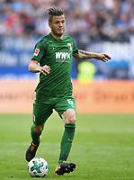 Jeffrey Gouweleeuw (Augsburg)<br /> Hamburg, 19.08.2017, Fussball Bundesliga, Hamburger SV - FC Augsburg 1:0<br /> <br /> Norway only