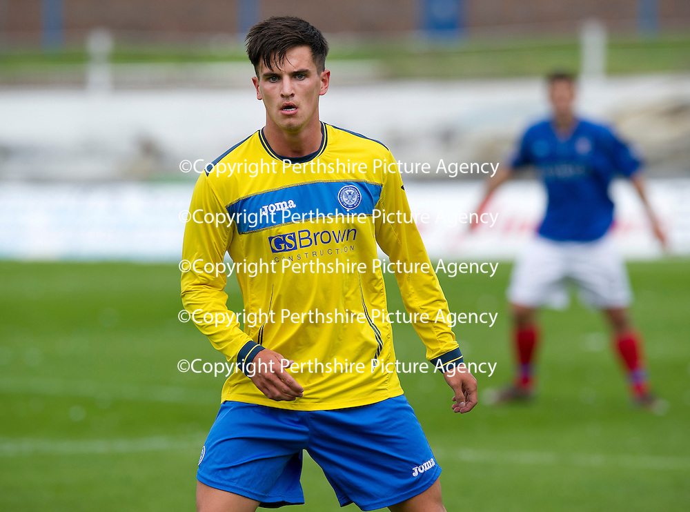 St Johnstone FC...Season 2012-13<br /> Trialist Ryan Donaldson<br /> Picture by Graeme Hart.<br /> Copyright Perthshire Picture Agency<br /> Tel: 01738 623350  Mobile: 07990 594431