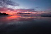 Dawn breaks over the beach at Wild Dunes resort June 13, 2017 in Isle of Palms, South Carolina. Isle of Palms is a sea island along the Atlantic coast near Charleston, South Carolina.